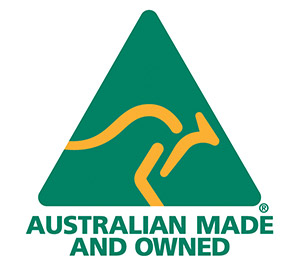 300 Australian Made Owned full colour logo